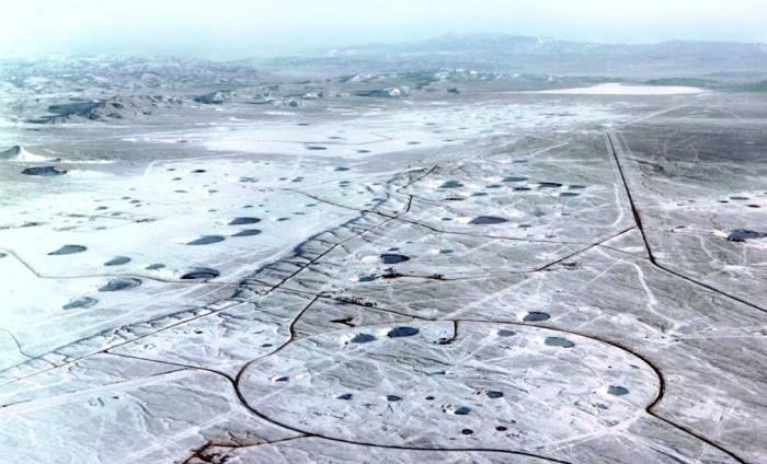 фото новая земля полигон